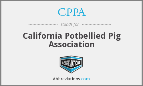 CPPA - California Potbellied Pig Association