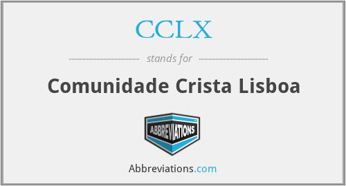 CCLX - Comunidade Crista Lisboa
