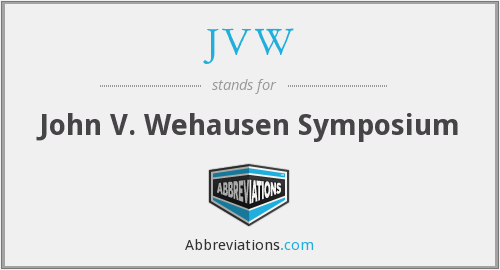 JVW - John V. Wehausen Symposium