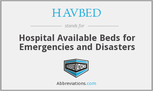 What does HAVBED stand for?