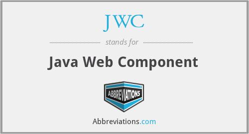 JWC - Java Web Component
