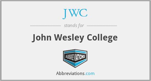 JWC - John Wesley College