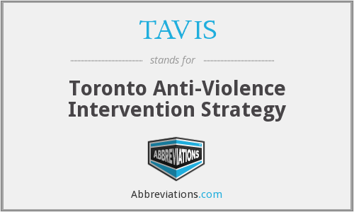 What does TAVIS stand for?