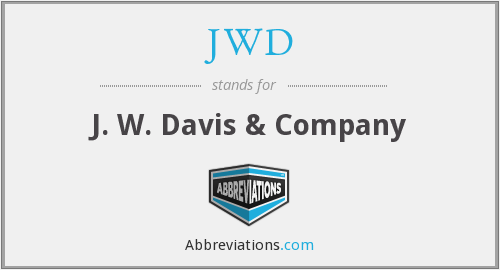 What does JWD stand for?