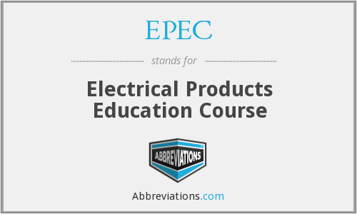 EPEC - Electrical Products Education Course