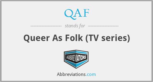 QAF - Queer As Folk (TV series)