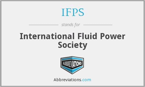 IFPS - International Fluid Power Society
