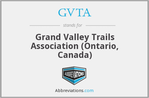 GVTA - Grand Valley Trails Association (Ontario, Canada)