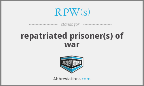 What does RPW(S) stand for?