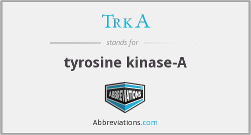 TrkA - tyrosine kinase-A