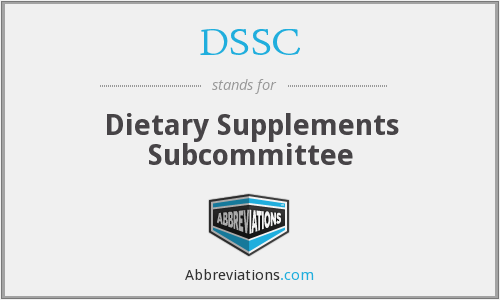 DSSC - Dietary Supplements Subcommittee