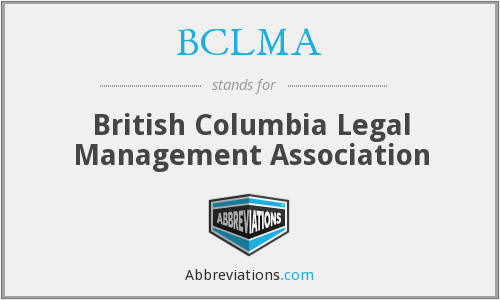 What does BCLMA stand for?