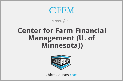 CFFM - Center for Farm Financial Management (U. of Minnesota))