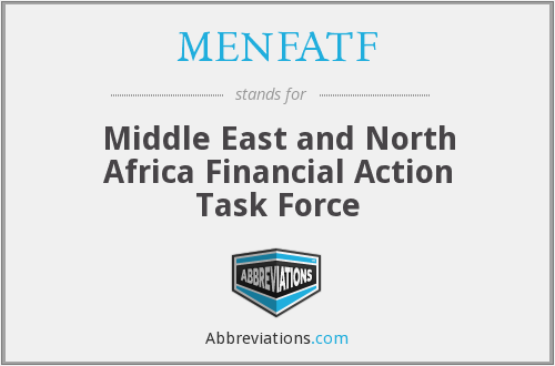 What does MENFATF stand for?