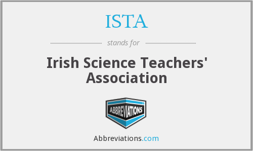 ISTA - Irish Science Teachers' Association