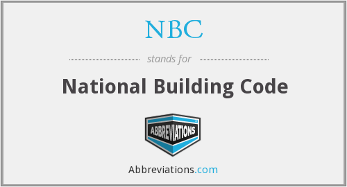 NBC - National Building Code