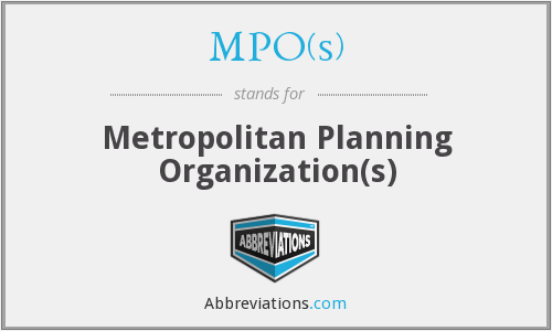 What does MPO(S) stand for?