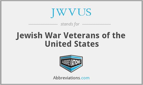 JWVUS - Jewish War Veterans of the United States