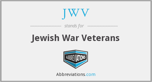 What does JWV stand for?