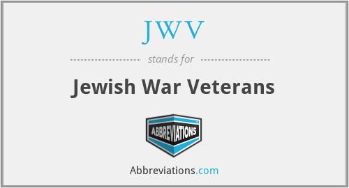 JWV - Jewish War Veterans