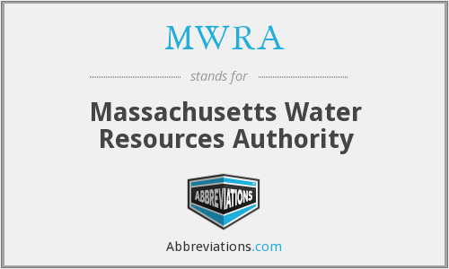 MWRA - Massachusetts Water Resources Authority