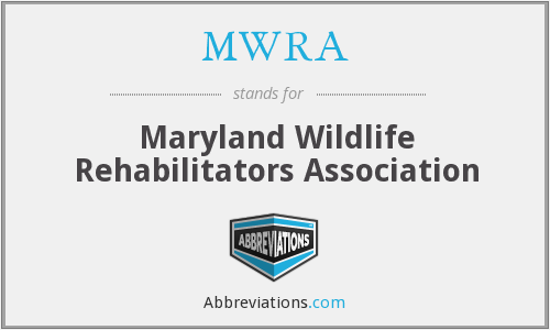 MWRA - Maryland Wildlife Rehabilitators Association