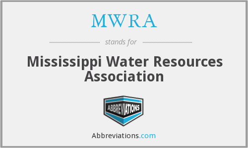 MWRA - Mississippi Water Resources Association