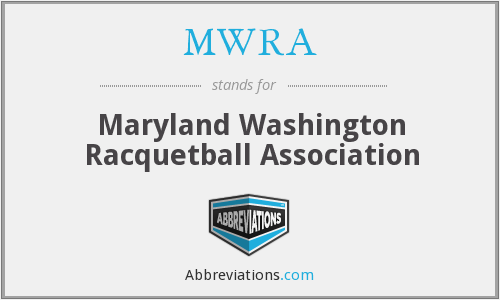 MWRA - Maryland Washington Racquetball Association