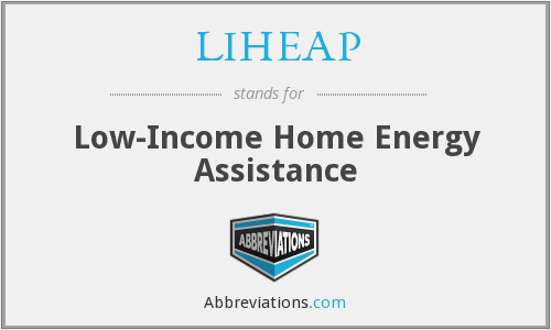 LIHEAP - Low-Income Home Energy Assistance