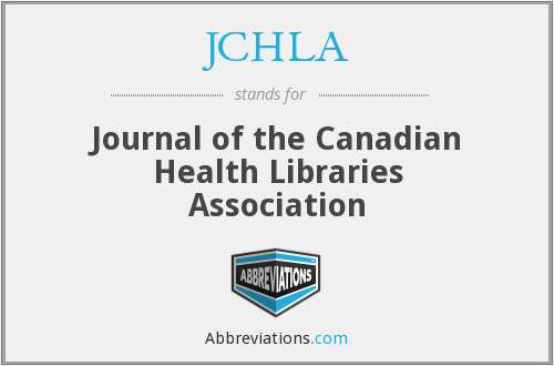 What does JCHLA stand for?