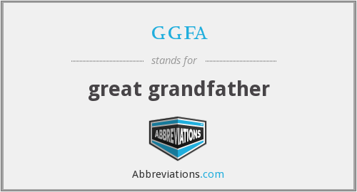 What does GGFA stand for?