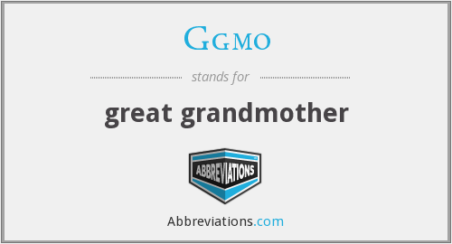 What does GGMO stand for?