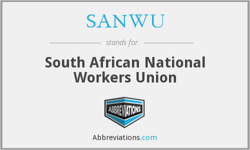 SANWU - South African National Workers Union