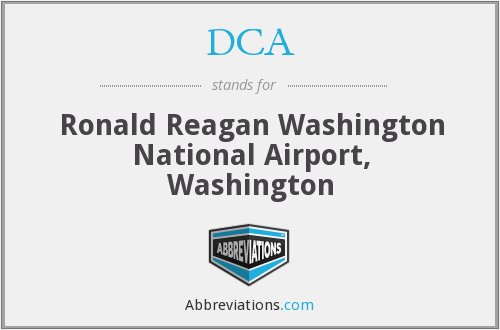 DCA - Ronald Reagan Washington National Airport, Washington