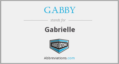 What does GABBY stand for?