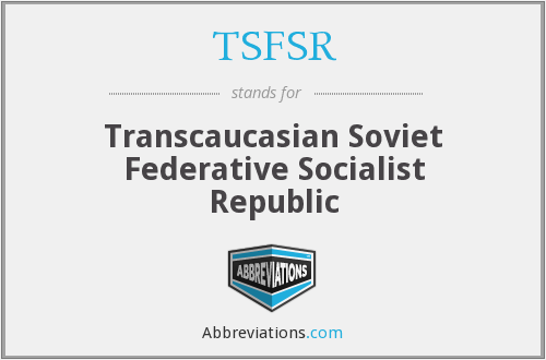 What does TSFSR stand for?