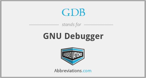 GDB - GNU Debugger