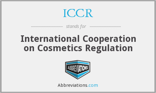 ICCR - International Cooperation on Cosmetics Regulation
