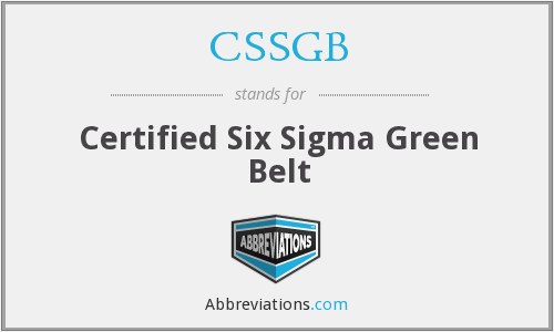 What does CSSGB stand for?