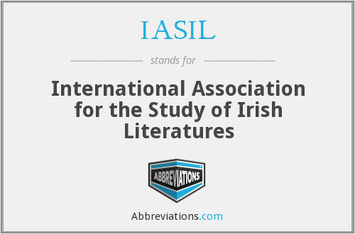 What does IASIL stand for?