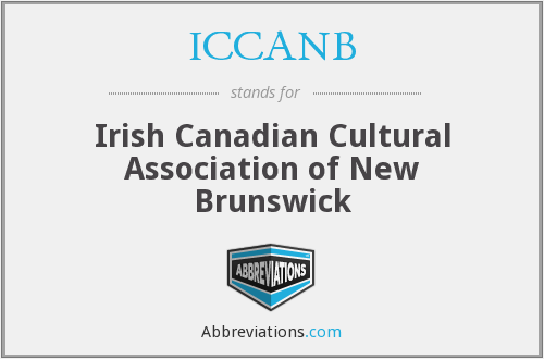 ICCANB - Irish Canadian Cultural Association of New Brunswick