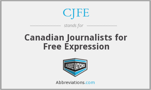 What does CJFE stand for?