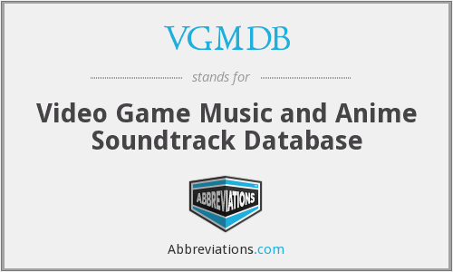 VGMDB - Video Game Music and Anime Soundtrack Database