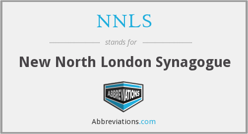 NNLS - New North London Synagogue