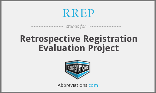 RREP - Retrospective Registration Evaluation Project
