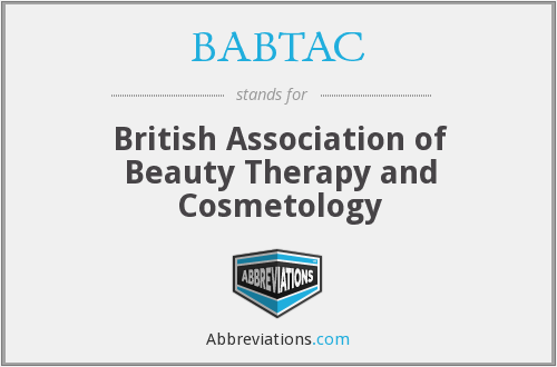 BABTAC - British Association of Beauty Therapy and Cosmetology