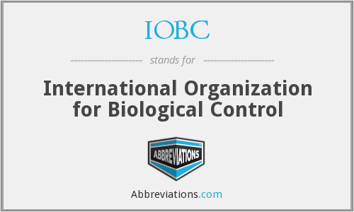 IOBC - International Organization for Biological Control
