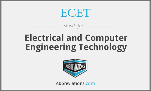 ECET - Electrical and Computer Engineering Technology