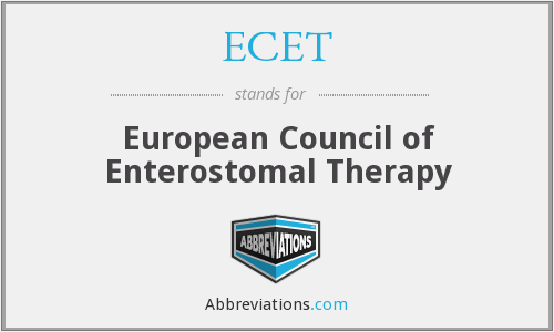 ECET - European Council of Enterostomal Therapy