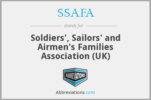 SSAFA - Soldiers', Sailors' and Airmen's Families Association (UK)